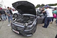 Класс Limuzin Мерседес-Benz e Стоковое Изображение RF