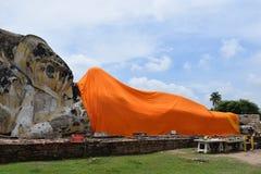 класть Будды Стоковая Фотография RF