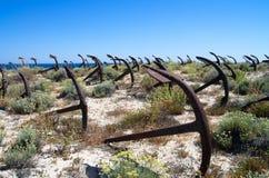Кладбище анкера Стоковая Фотография