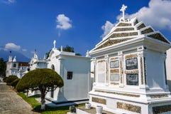 Кладбище, Антигуа, Гватемала Стоковое Фото