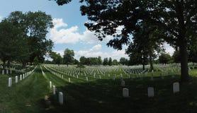 Кладбище Арлингтона стоковое изображение rf