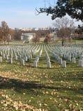 Кладбище Арлингтон национальное Стоковые Изображения