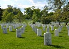 Кладбище Арлингтон национальное Стоковые Изображения RF