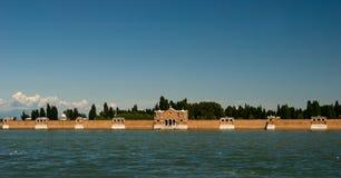 Кладбище Венеция Стоковое Изображение