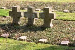Кладбище воинов Стоковые Изображения RF