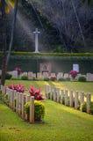 Кладбище войны Стоковая Фотография RF