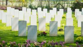 Кладбище войны Стоковое Изображение