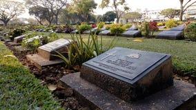 Кладбище войны стоковые фото