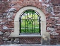 Кладбище в Кракове, Польша Remuh еврейское стоковое фото rf