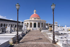 Кладбище в старом Сан-Хуане Стоковые Фото