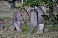 кладбище еврейское Стоковое Изображение