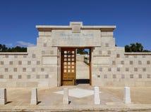 Кладбище Иерусалим Первой Мировой Войны стоковая фотография rf