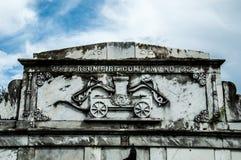 Кладбище Лафайета Стоковое Изображение