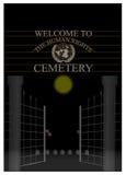 Кладбище прав человека Стоковое Изображение