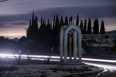 Кладбище самолетов Аликанте, Испании Стоковое Изображение