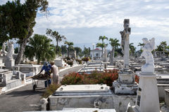 Кладбище Санты Ifigenia Стоковая Фотография RF