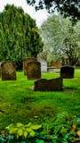 кладбище старое Стоковое Изображение