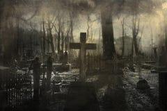 кладбище старое Стоковые Фото