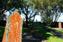 Кладбище улицы Symonds в Окленде Новой Зеландии Стоковые Фото