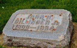 Кладбище холма кроны Стоковая Фотография