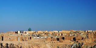 Кладбище -Эн-Наджафа мусульманское, Ирак стоковое изображение rf
