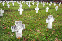 кладбище Стоковое Изображение RF