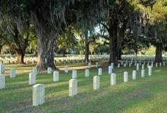 Кладбище Beaufort национальное Стоковое фото RF