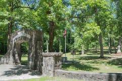 Кладбище Confederate, Reseca Georgia США Стоковая Фотография RF