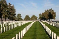 Кладбище Custer национальное стоковые изображения rf