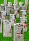 Кладбище 3 Fort Smith национальное историческое Стоковые Изображения