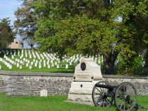 Кладбище Gettysburg Стоковые Фотографии RF