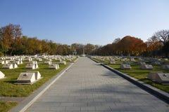 Кладбище Kerepesi в Будапеште, Венгрии, 2 Novt 2015 Стоковая Фотография