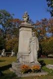 Кладбище Kerepesi в Будапеште, Венгрии, 2 Novt 2015 Стоковое Изображение RF