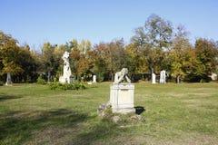 Кладбище Kerepesi в Будапеште, Венгрии, 2 Novt 2015 Стоковые Изображения RF