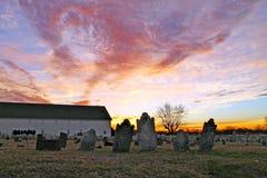 Кладбище Mennonite Стоковое Изображение RF