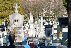Кладбище Montparnasse стоковые фотографии rf