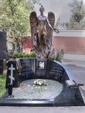 Кладбище Novodevichy Тягчайший политик Александр Pochinok Стоковое Изображение RF