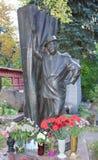 Кладбище Novodevichye Тягчайший актер Борис Brunow стоковая фотография rf