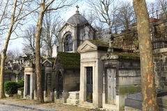 Кладбище Pere Lachaise. Стоковые Изображения