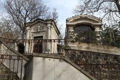 Кладбище Pere Lachaise. Стоковые Фото
