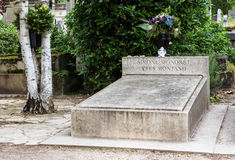 Кладбище Pere Lachaise Франция paris Стоковые Фотографии RF