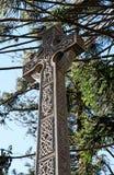 Большой архитектурноакустический крест. Символ вероисповедания и верования. Стоковые Изображения RF