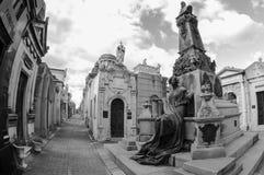 Кладбище Recoleta, Буэнос-Айрес, Аргентина стоковые фото