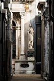 Кладбище Recoleta, Буэнос-Айрес Аргентина Стоковое Фото