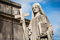 Кладбище Recoleta, Буэнос-Айрес Аргентина Стоковая Фотография
