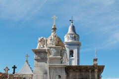Кладбище Recoleta, Буэнос-Айрес Аргентина Стоковое Изображение