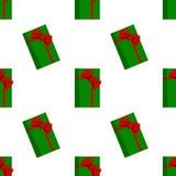 кладет вектор в коробку eps включенный подарком Стоковые Изображения RF