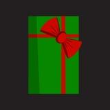 кладет вектор в коробку eps включенный подарком Стоковые Фотографии RF
