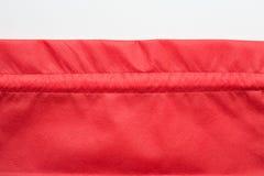 кладет красный цвет в мешки ткани Стоковые Фотографии RF