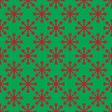 кладет подарок в коробку рождества цветастый картина праздника безшовная Стоковое Изображение